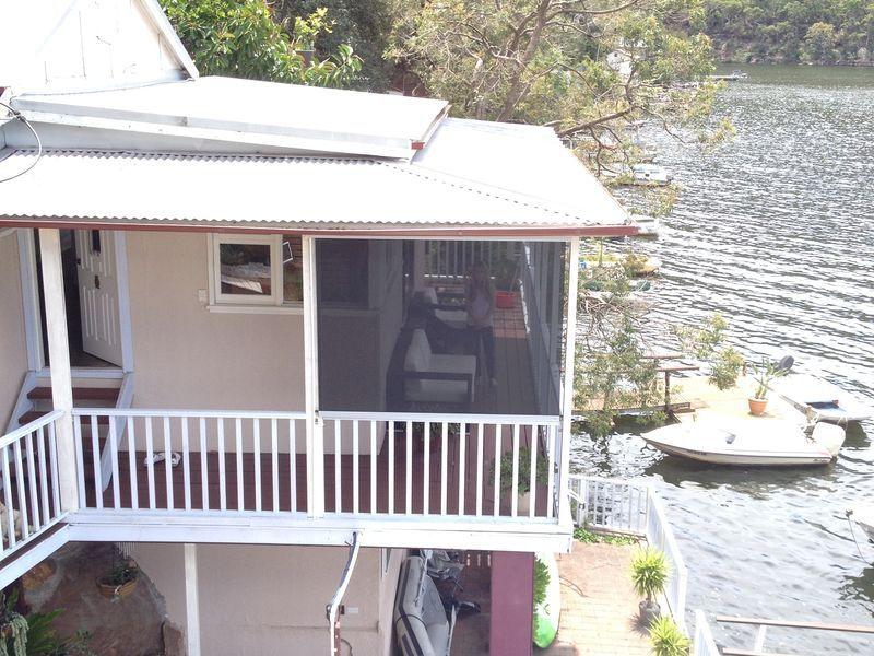 Boathouse veranadah