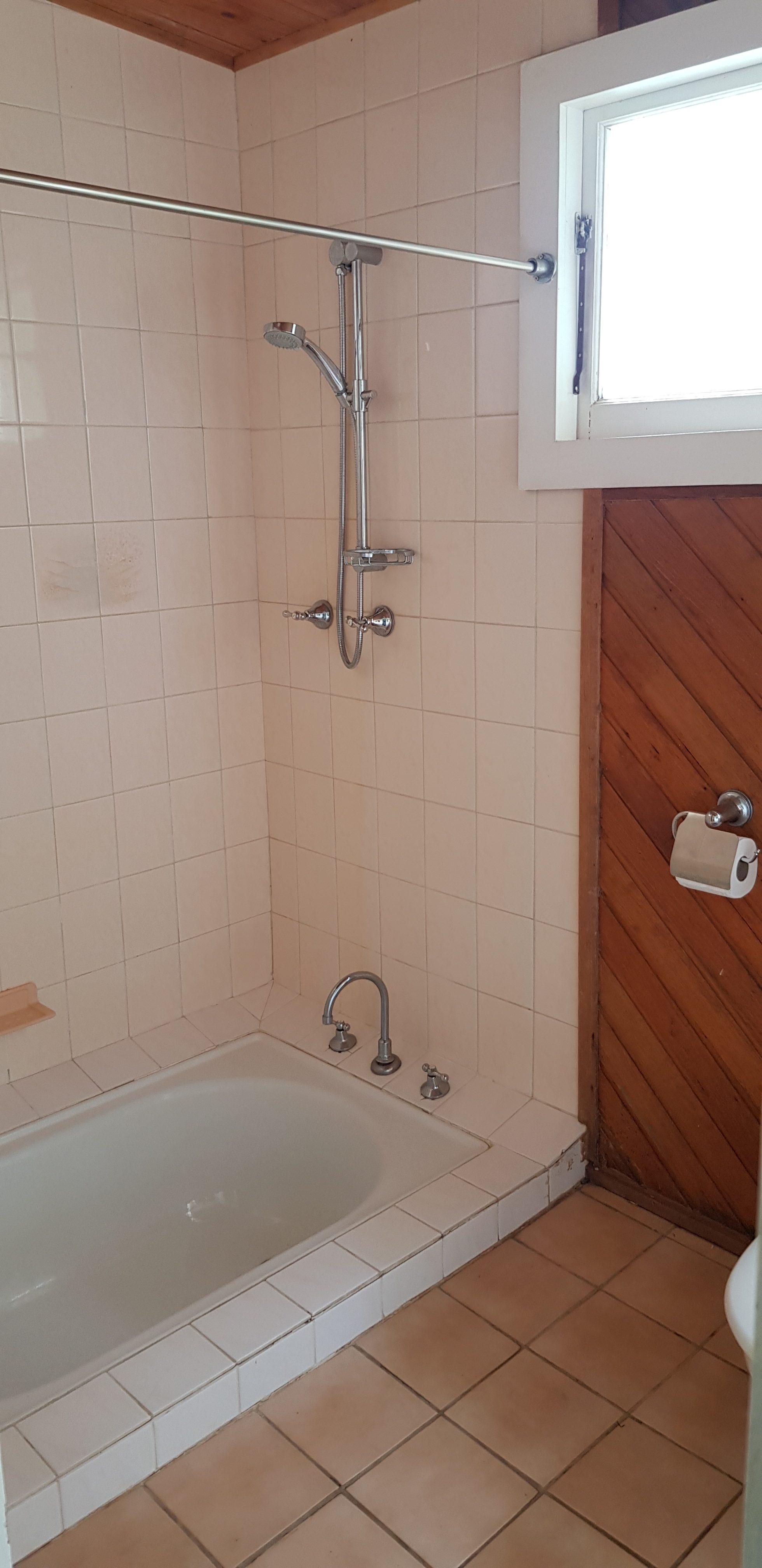 sunked bath second bathroom