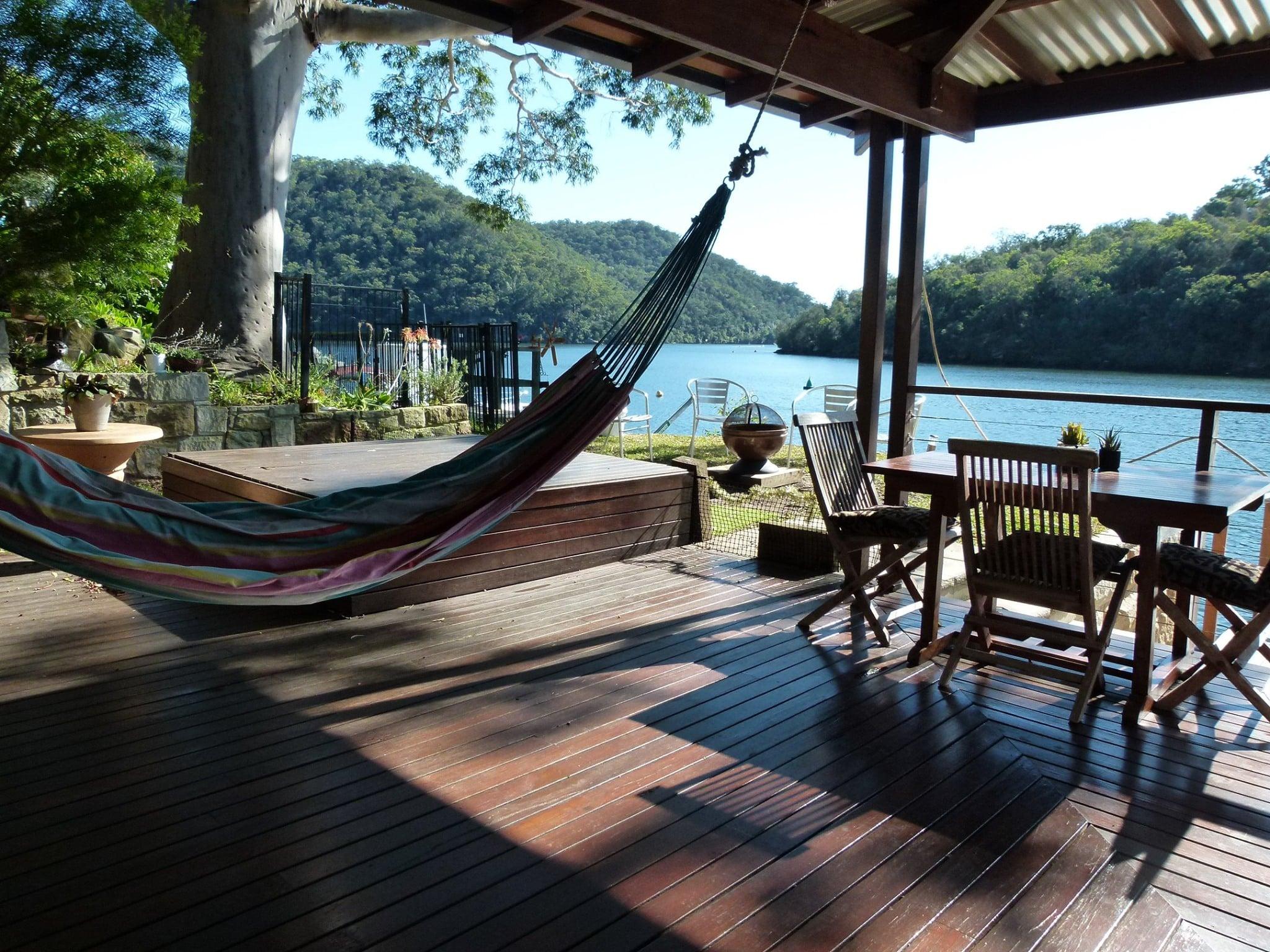 Relax on the verandah